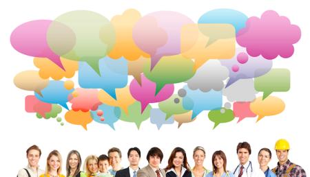 Translators translating social media feeds