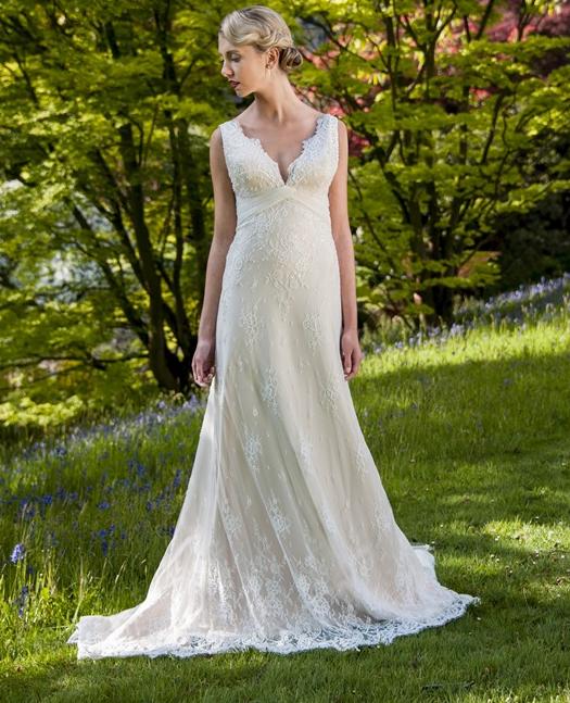 Wedding Gown Hong Kong: Two Romantic V Neck HITCHED! Bridal Hong Kong Wedding