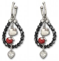 HELLO-KITTY-GLAMOUR-Hoop-earrings